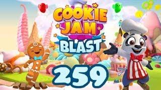 🍪 Cookie Jam Blast Level 259 🍪