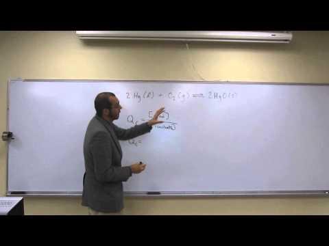 Write the Reaction Quotient (Qc) 002