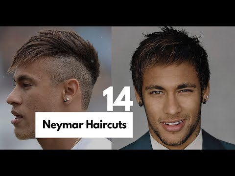14 Best Neymar Hairstyles & Haircuts (New-2018) Neymar Haircuts Transformation