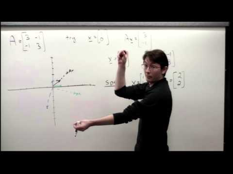 Lecture: Eigenvalues and Eigenvectors