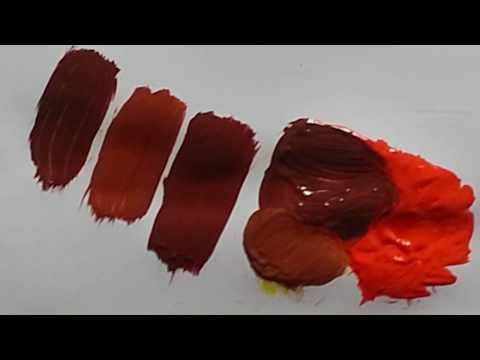comment faire du marron en peinture