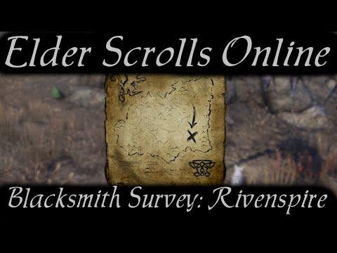 Blacksmith Survey: Rivenspire [Elder Scrolls Online]