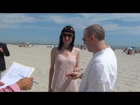 Civil Ceremony on Long Beach 07/18/14