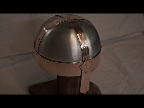 how to make a metal knights helmet (EASY)
