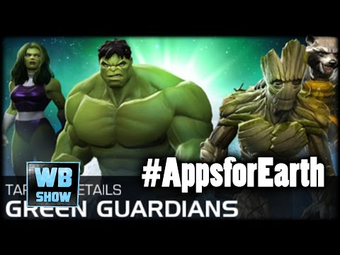 Marvel: Contest of Champions - Green Guardians + WWF Power Pack!