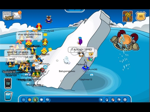 12 Years... Tipping The Iceberg in Club Penguin (Tipping The Iceberg)