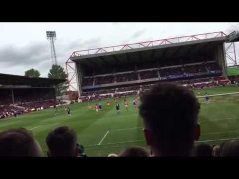 Nottingham Forest v Cardiff City (02/05/15) - kick-off
