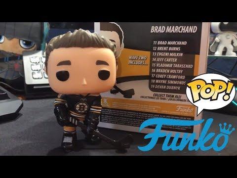 Funko POP! NHL Brad Marchand #63 Boston Bruins Figure Unboxing