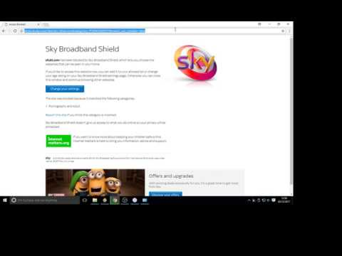 How To Bypass Sky Home Block