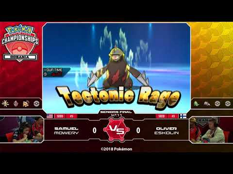 2018 Pokémon Oceania International Championships: VG Senior Finals
