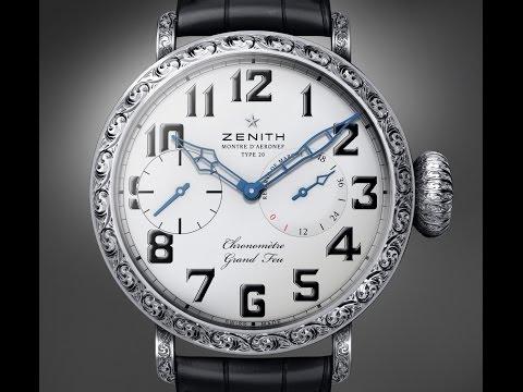 Zenith Pilot Type 20 Grand Feu Watch ref 04.2420.5011/17.C714