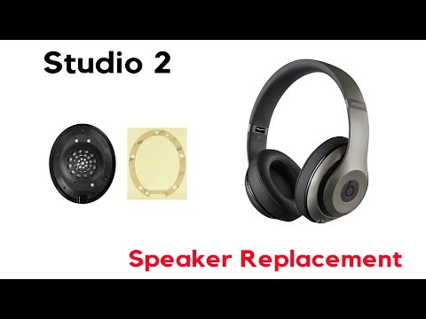 How to Replace a Speaker Beats Studio 2 Wired Wireless Repair Service JoesGE