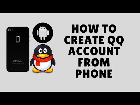 how to create qq account from phone