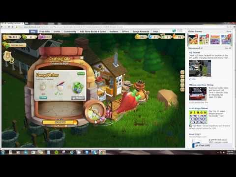 THE CRAFTING KILN IN FARMVILLE 2 (HOW IT WORKS) By Lenny Parker