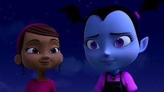 Vampirina en Español - Compañeros de Vampi Acampada    Disney Junior dibujos animados VAMPIRINA