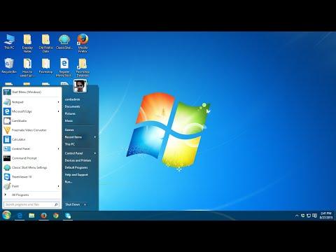 How to Make Windows 10 looks like Windows 7