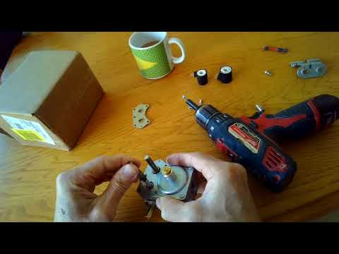 Dryer Gas Valve — Disassembly
