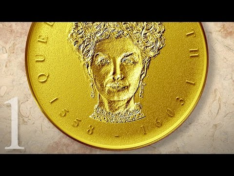 Photoshop Tutorial: Part 1 - How to Create a Gold, Medallion Coin Portrait