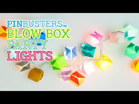 Origami Party Lights // DO THESE WORK?