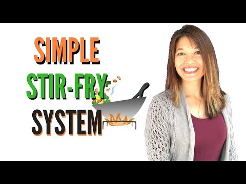 Simple Stir-fry System - Make Dozens of Types of Stir-fries in a Flash!
