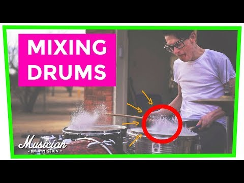 How to Mix Programmed Drums and Drum Samples (BASK Technique) - musicianonamission.com