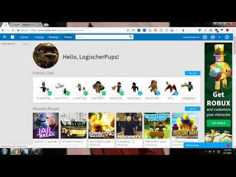 how to get ROBUX With inspect element [Unpatched]