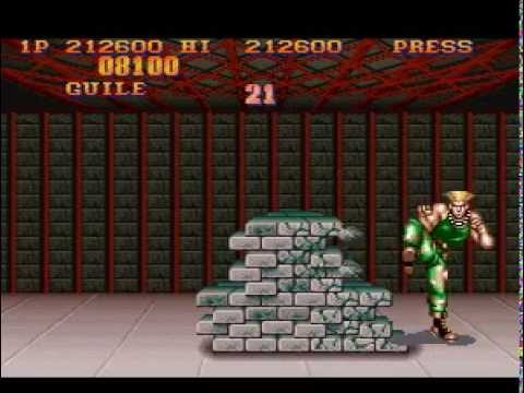 Street Fighter II - The World Warrior (SNES) - Guile