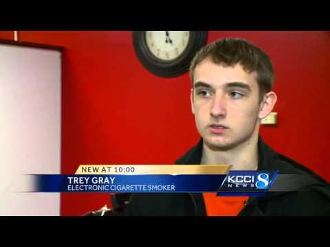 E-cigarettes spark debate in Iowa