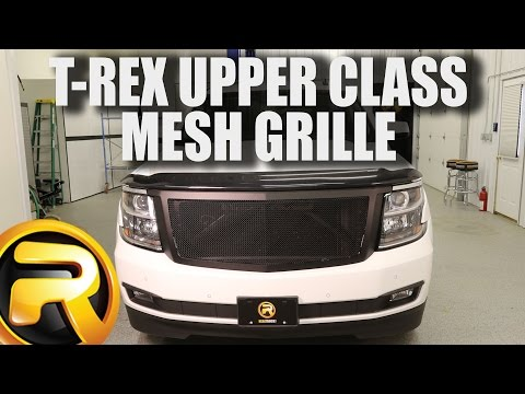 How to Install T-Rex Upper Class Mesh Grille on a 2015 Chevy Suburban