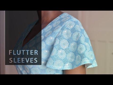 Quick Drafts – Flutter Sleeve Pattern • Elewa