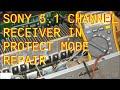 Sony Audio Receiver In Protect Mode Repair Fix Str Dg720