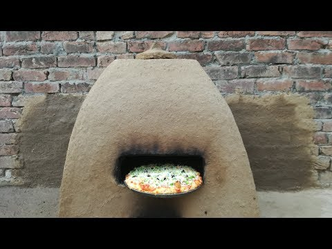 Primitive Technology Clay Mud Oven for Pizza | Cob Oven Clay | Outdoor Kitchen | Pizza Oven