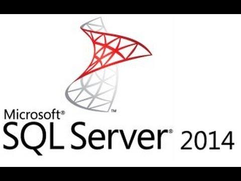 SQL server 2014: create database, table, field and insert data