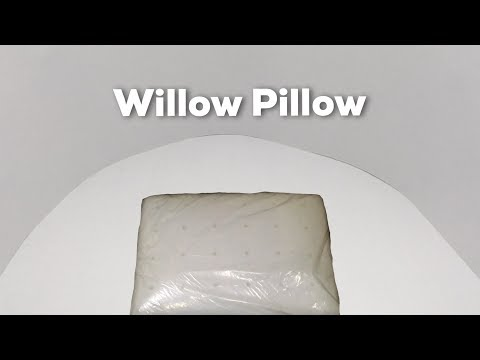 The White Willow Cool Air Memory Foam Pillow