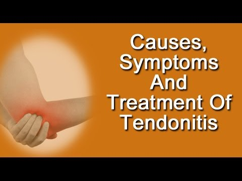 Causes, Symptoms And Treatment of Tendonitis