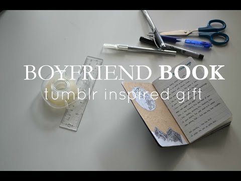 Boyfriend Book// Gift Inspiration