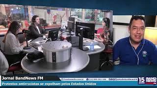 Barão fala sobre os protestos antirracistas nos EUA e a mobilização do Exército por Trump