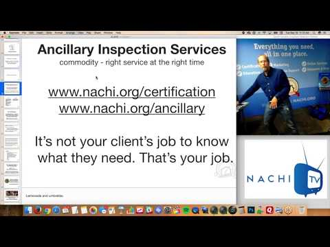 Ancillary inspection services are profitable for inspectors in Inspection Tip #14