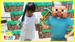 MINECRAFT Roblox and Slither.io In Real Life toy hunt