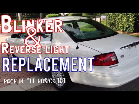 2000-2007 Mercury Sable/taurus,rear blinker and reverse light, replacement.