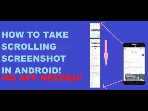How to take scrolling Screenshot in Android (No App Needed)