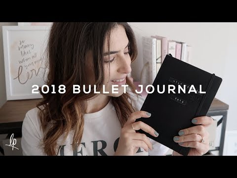 MY 'YOUTUBER STYLE' BULLET JOURNAL 2018 | Lily Pebbles