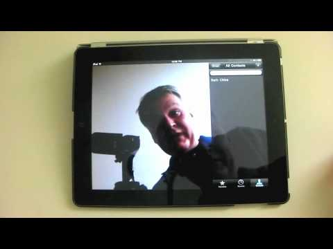 Using FaceTime - An iPad Mini Tutorial