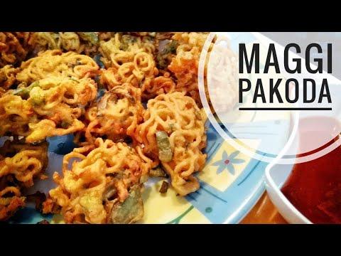 How To Make Maggi Pakoda   Quick & Easy Noodles Pakoda   In Hindi 2017