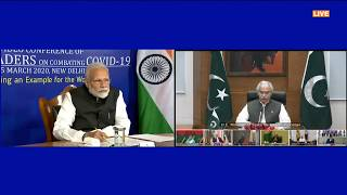 Pakistan - Chalking out a plan to combat the COVID-19 Novel Coronavirus with SAARC leaders
