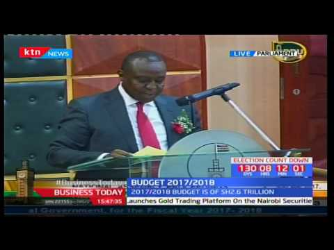 Kenyan Budget 2017/2018 - This is how government intends to financially fight corruption