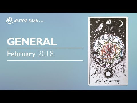 GENERAL PSYCHIC NUMEROLOGY FORECAST FEBRUARY 2018 💝DESTINY, FATE, CHANGE OF COURSE