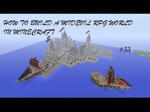 How to Build a Medieval RPG World in Minecraft - Episode 33