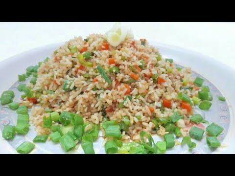 Veg Fried Rice in tamil - வெஜ் ப்ரைடு ரைஸ் | Street food | Vegetable Fried Rice