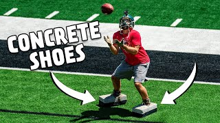 Concrete Shoes Football Battle